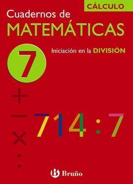 CUADERNOS DE MATEMÁTICAS 7