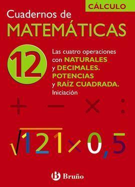 CUADERNOS DE MATEMÁTICAS 12
