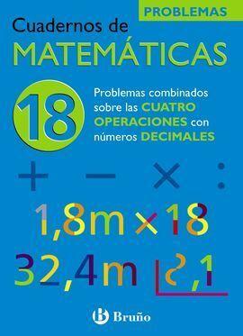CUADERNOS DE MATEMÁTICAS 18. OPERACIONES CON DECIMALES