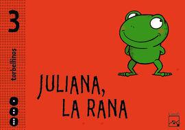 JULIANA LA RANA PACK 3 AÑOS TORBELLINOS