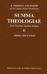 SUMMA THEOLOGIAE. II: PRIMA SECUNDAE