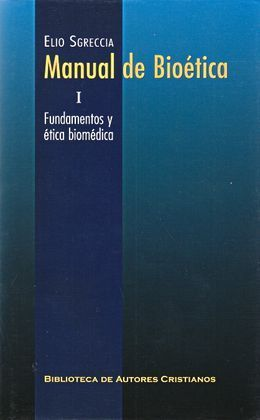 MANUAL DE BIOETICA I