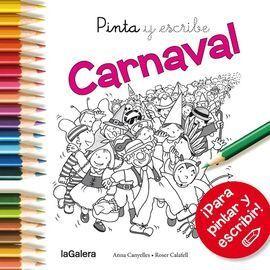 PINTA Y ESCRIBE CARNAVAL