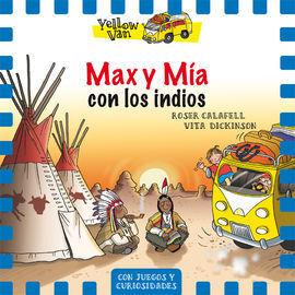 LA YELLOW VAN LLEVA A MAX Y MIA CON LOS INDIOS DE LAS PRADERAS