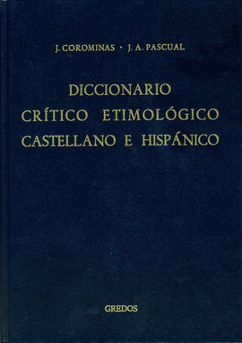 DICCIONARIO CRÍTICO ETIMOLÓGICO CASTELLANO E HISPÁNICO  RI-X