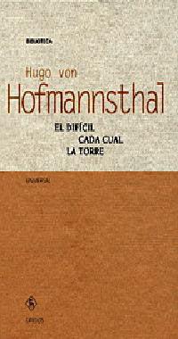 EL DIFICIL; CADA CUAL; LA TORRE