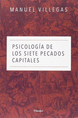 PSICOLOGÍA DE LOS SIETE PECADOS CAPITALES