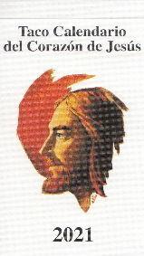 TACO CALENDARIO CORAZON DE JESUS 2021 (CLASICO)