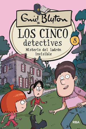 MISTERIODE DEL LADRON INVISIBLE. LOS CINCO DETECTIVES 8