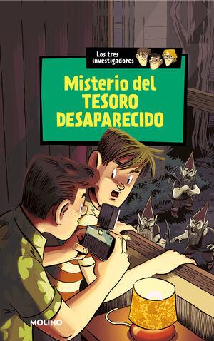 MISTERIO DEL TESORO DESAPARECIDO