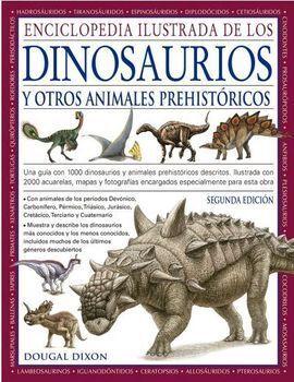 ENCICLOPEDIA ILUSTRADA DE LOS DINOSAURIOS Y OTROS ANIMALES