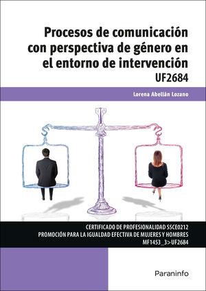 PROCESOS DE COMUNICACION CON PERSPECTIVA DE GENERO EN EL ENTORNO