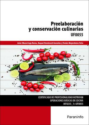 PREELABORACION Y CONSERVACION CULINARIAS