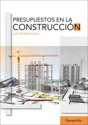 PRESUPUESTOS EN LA CONSTRUCCIÓN
