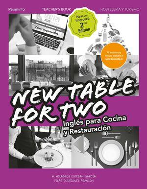 TABLE FOR TWO. INGLÉS PARA RESTAURACIÓN