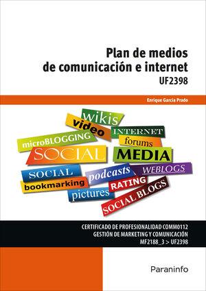 PLAN DE MEDIOS DE COMUNICACIÓN E INTERNET