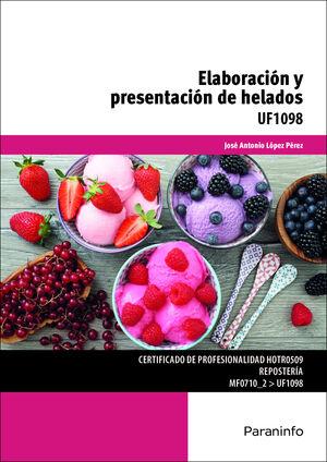 ELABORACIÓN Y PRESENTACIÓN DE HELADOS