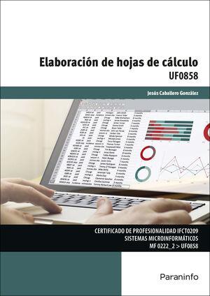 UF0858 - ELABORACIÓN DE HOJAS DE CÁLCULO