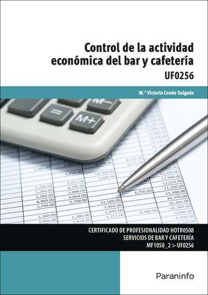 CONTROL DE LA ACTIVIDAD ECONÓMICA DEL BAR Y CAFETERÍA