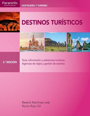 DESTINOS TURÍSTICOS 2.ª EDICIÓN 2019