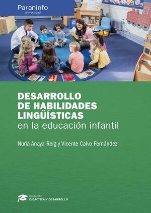 DESARROLLO DE HABILIDADES LINGŠISTICAS EN LA EDUCACIÓN INFANTIL