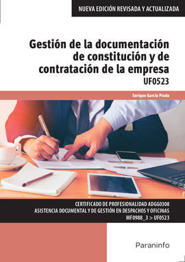 GESTION DE LA DOCUMENTACION DE CONSTITUCION Y CONT