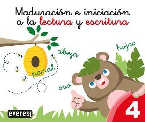 MADURACION E INICIACION A LA LECTURA Y ESCRITURA 4