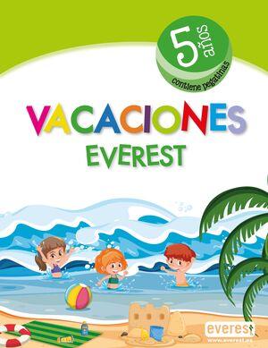 VACACIONES 5AÑOS 2019