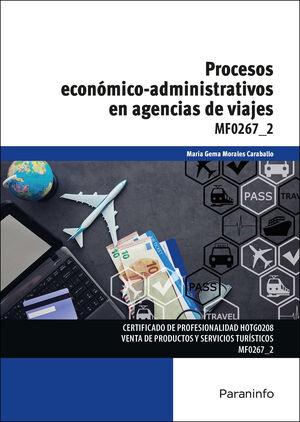 PROCESOS ECONOMICO-ADMINISTRATIVOS EN AGENCIAS DE VIAJES