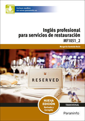 INGLES PARA SERVICIOS DE RESTAURACION