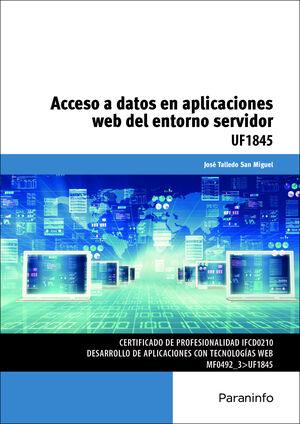 ACCESO A DATOS EN APLICACIONES WEB DEL ENTORNO SERVIDOR