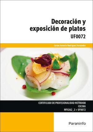 DECORACIÓN Y EXPOSICIÓN DE PLATOS