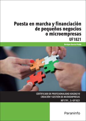 PUESTA EN MARCHA Y FINANCIACION DE PEQUEÑOS NEGOCIOS O MICROEMPRE