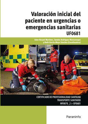 VALORACION INICIAL DEL PACIENTE EN URGENCIAS O EMERGENCIAS SANITA