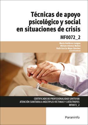 TECNICAS DE APOYO PSICOLÓGICO Y SOCIAL EN SITUACIONES DE CRISIS
