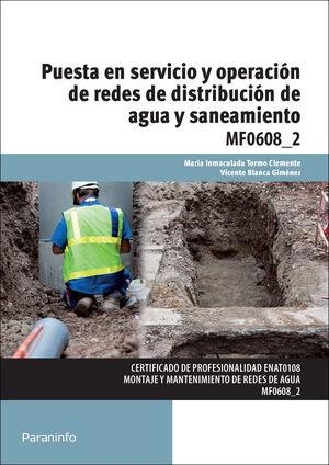 PUESTA EN SERVICIO Y OPERACIÓN DE REDES DE DISTRIBUCIÓN DE AGUA Y SANEAMIENTO