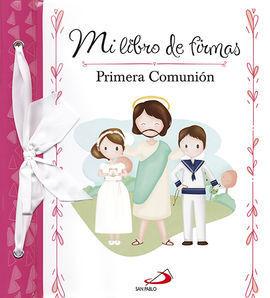 MI LIBRO DE FIRMAS PRIMERA COMUNION MODELO B