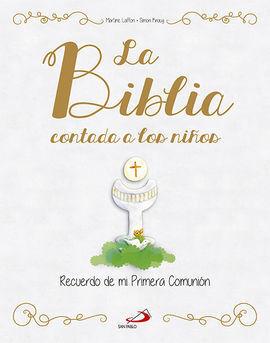 BIBLIA CONTADA A LOS NIÑOS,LA