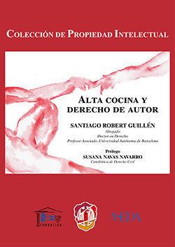 ALTA COCINA Y DERECHO DE AUTOR