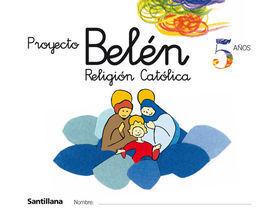 RELIGION CATOLICA 5 AÑOS PROYECTO BELEN