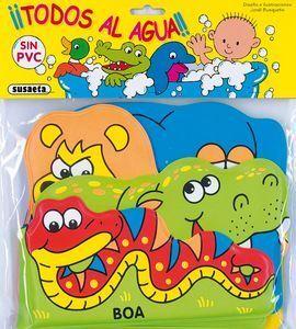 ANIMALES DE LA SELVA TODOS AL AGUA