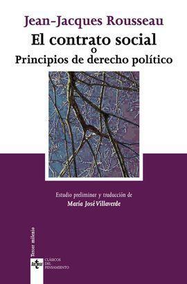 EL CONTRATO SOCIAL O PRINCIPIOS DE DERECHO POLÍTIC