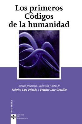 LOS PRIMEROS CÓDIGOS DE LA HUMANIDAD