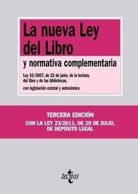 LA NUEVA LEY DEL LIBRO 2011