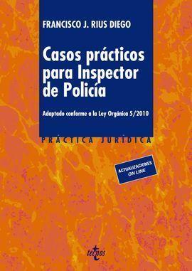 CASOS PRÁCTICOS PARA INSPECTOR DE POLICÍA