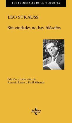 SIN CIUDADES NO HAY FILÓSOFOS