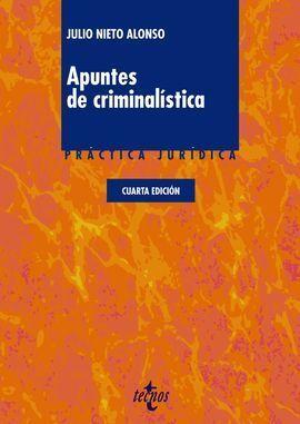 APUNTES DE CRIMINALÍSTICA