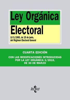 LEY ORGÁNICA ELECTORAL 2015