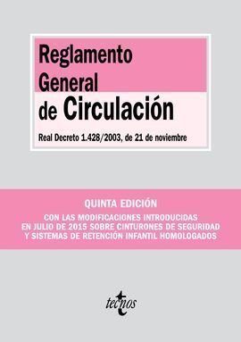 REGLAMENTO GENERAL DE CIRCULACIÓN