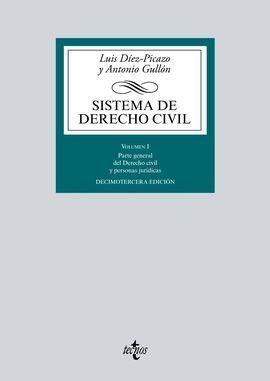 SISTEMA DE DERECHO CIVIL VOLUMEN I